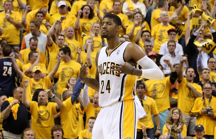 Paul George #nbaplayoffs #IndianaPacers