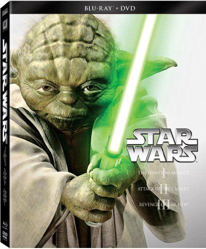 Star Wars Trilogy Episodes I-III (Blu-ray   DVD)