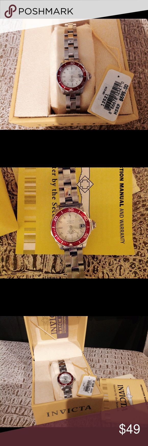 Invicta Women's diver watch Invicta Women's Divers watch, excellent condition, does need battery Invicta Accessories Watches