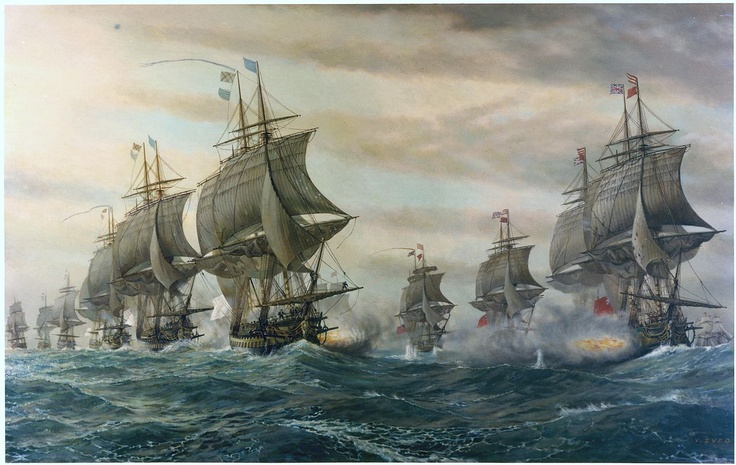 Second Battle of the Virginia Capes (Battle of the Chesapeake), crucial naval battle in the American Revolutionary War fought on September 5, 1781.