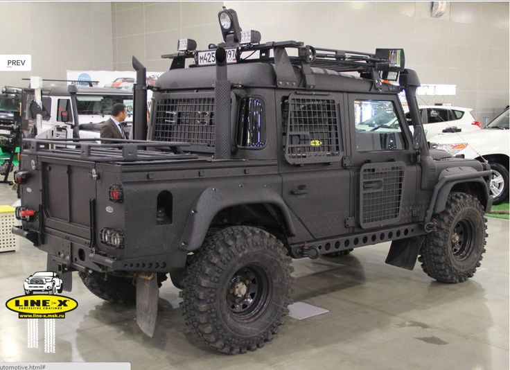 A Landrover Defender By Line X 0 4x4 Off Road