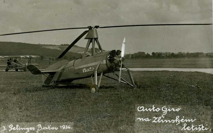 Bata airplane 1936