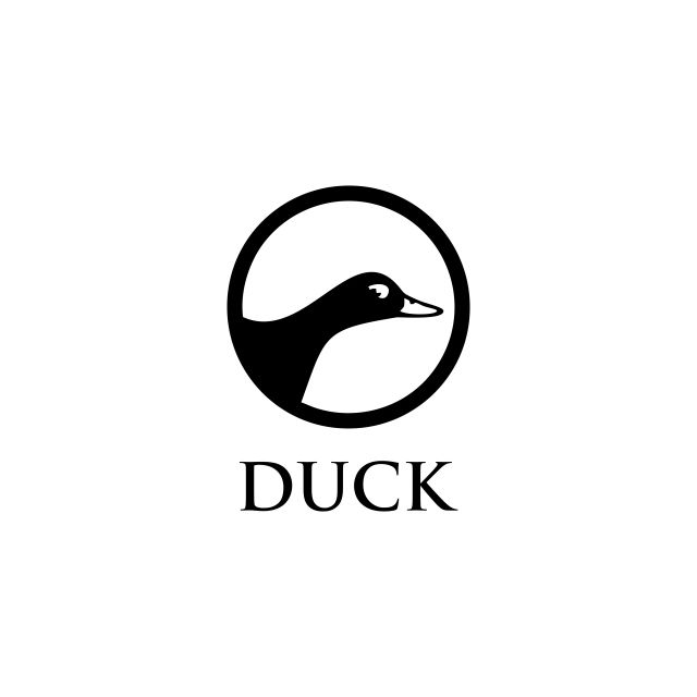 Duck Logo Vector Abstract Agriculture Animal Png And Vector