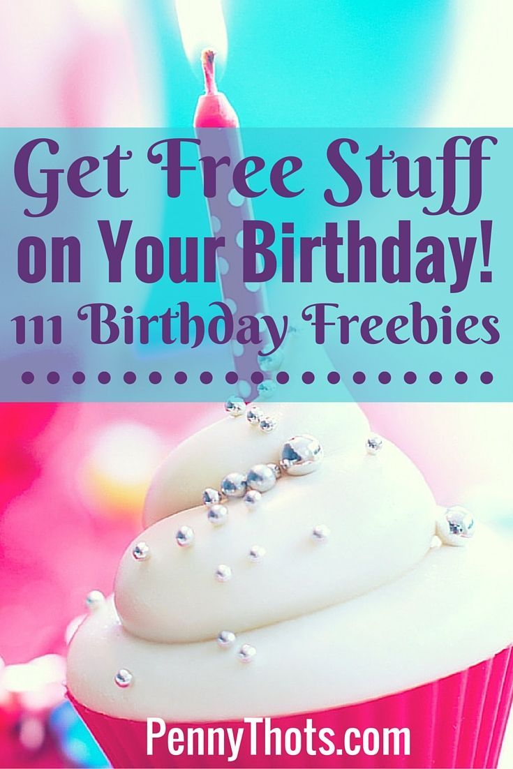 When I first started researching birthday freebies, I didn't think there would be much out there. Turns out there are a lot of birthday freebies on your birthday! pennythots.com/...