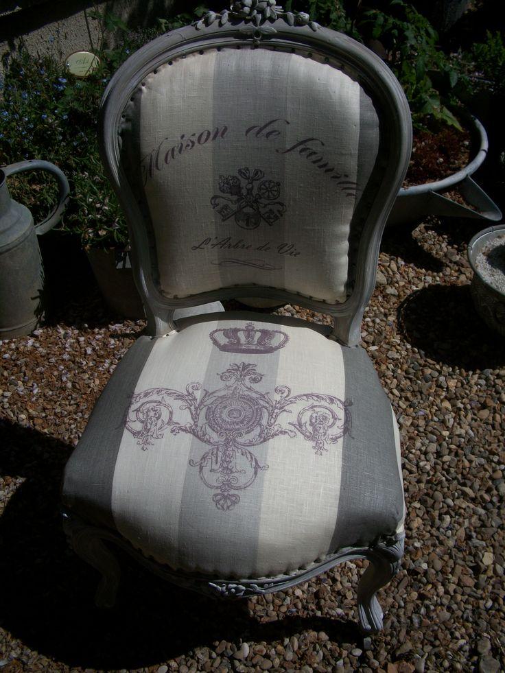 99 best images about fauteuil et chaises on pinterest - Fauteuil crapaud imprime ...