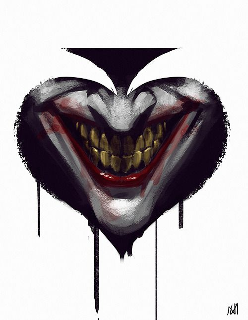 THE JOKER by norbface --Be your own Whyld Girl with a wicked tee today! http://whyldgirl.com/tshirts