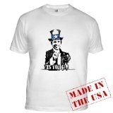 """Uncle Obama """"Yes You Can"""" Fitted T-Shirt (Apparel)By 09 President Product"""