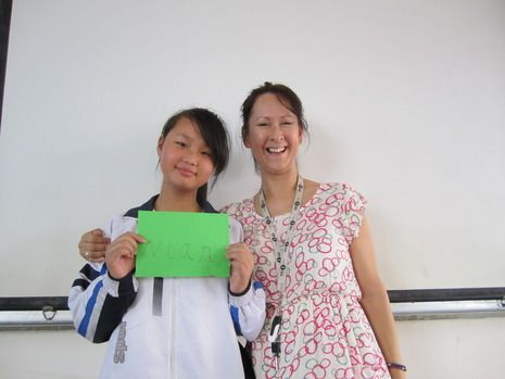 Teaching in China!