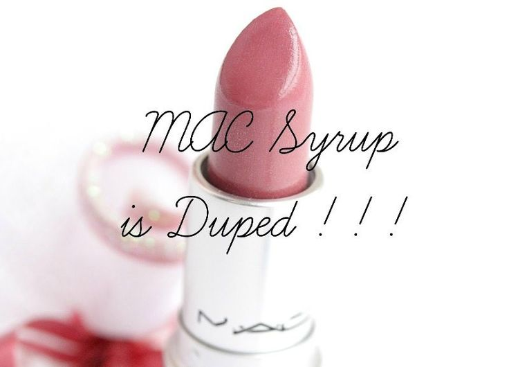 MAC Syrup Dupes! That Lustrous  Berry Pink <3 #macsyrup #MACSyrupDupes #MaybellineMakeMePink #MaybellineMakeMePinkdupes #RevlonSassyMauve #RevlonSassyMauvedupes #rimmelvintagepink #rimmelvintagepinkdupes
