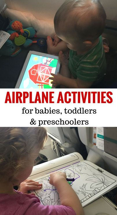 Inflight Entertainment For Babies, Toddlers