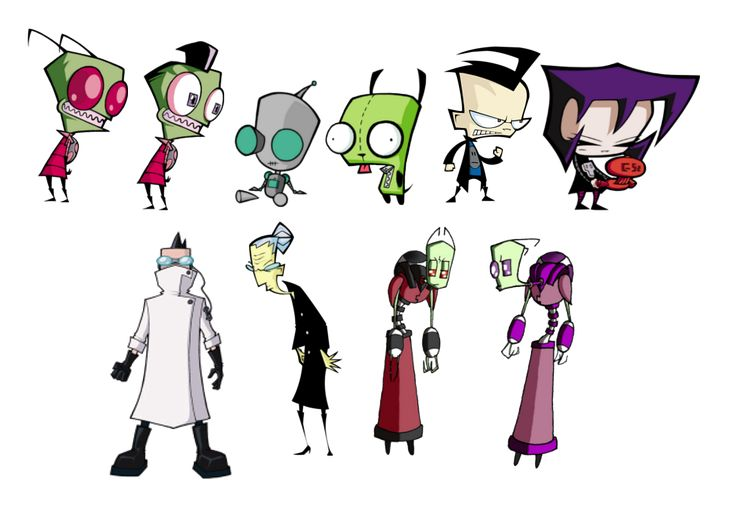 List of Invader Zim characters - Wikipedia, the free encyclopedia