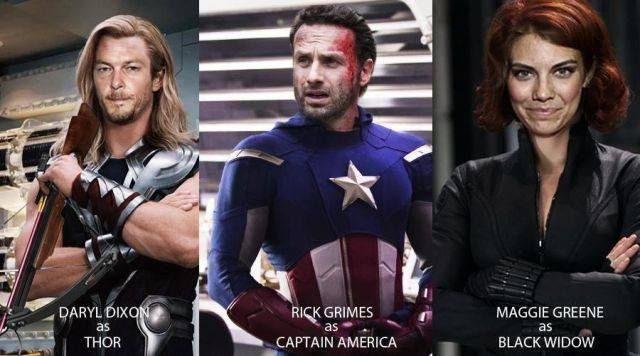 The Avengers meets TWD