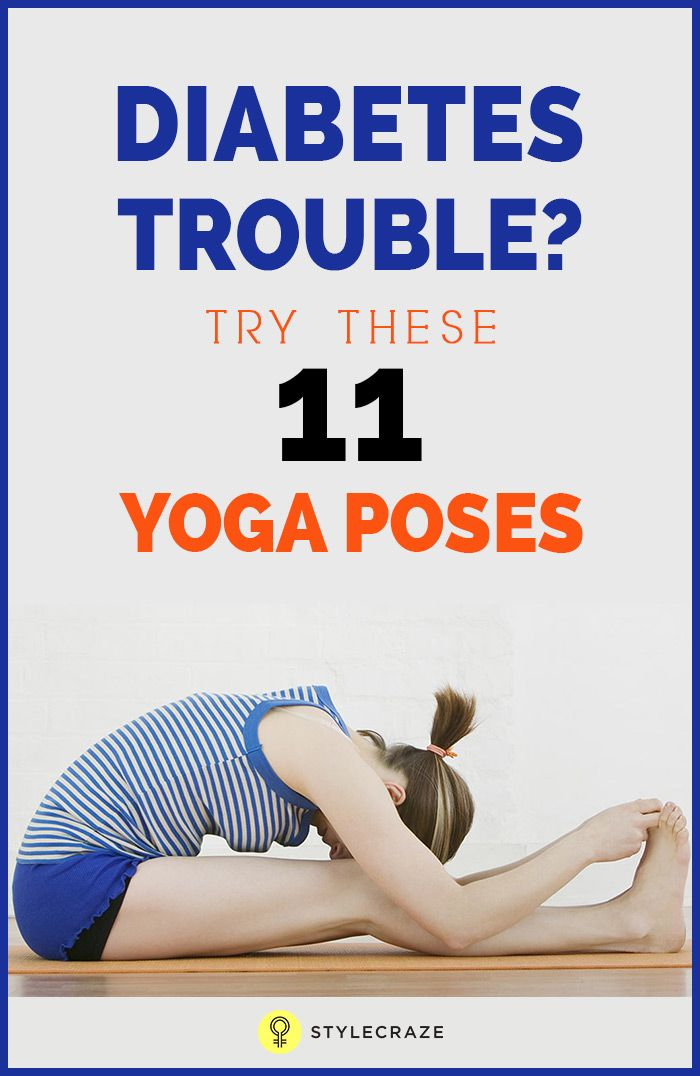 However studies have shown that there are certain yoga asanas for diabetes that will control your blood sugar level. These yoga asanas are designed such that they put pressure on your abdomen thereby stimulating pancreas to produce insulin. These postures circulate blood to the pancreas and improve its ability for insulin production. Yoga and diabetes treatment have proven to be more successful in the long run than even medication.