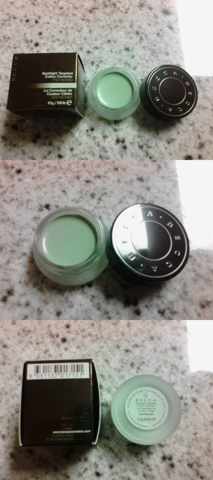 Concealer: Becca Backlight Targeted Colour Corrector Pistachio 0.16Oz Full Sz Nib W/Receipt BUY IT NOW ONLY: $40.0