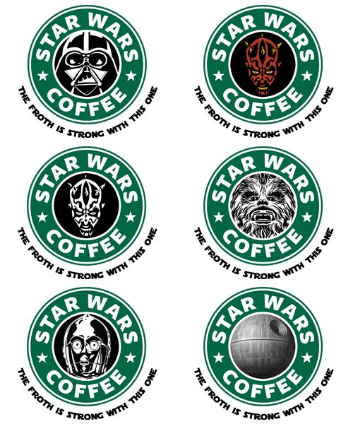 Star Wars Coffee -The Froth is strong with this one