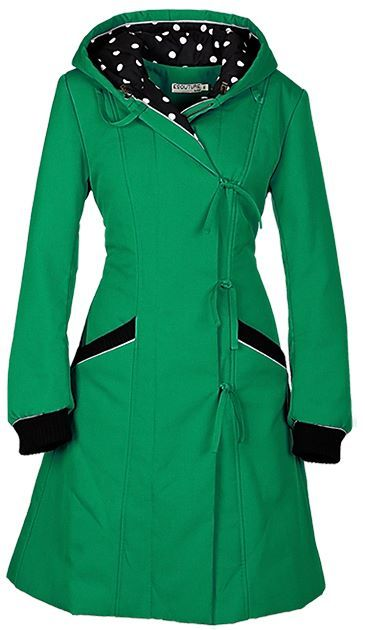 """Keep warm and green in the winter with Ecouture's new winter coat """"Isolde"""" http://ecouture.dk/isolde-green.html?___store=gb&___from_store=gb  Isolde is nice and warm! It is made of solid organic twill, The coat is lined with a soft bamboo-silk and isolated with Thinsulate. It has a zipper at the front, a hood, deep pockets and the laces at the back give a good fit and make it more flexible."""