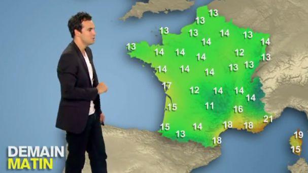 cool Alex Goude nous présente sa météo en 60 Secondes Chrono ! VIDEO