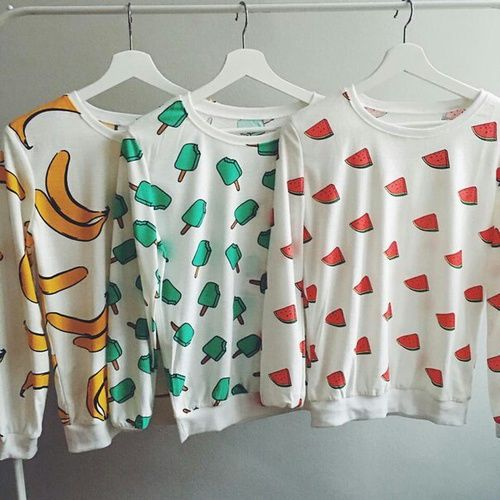 #sudaderas #fruit