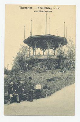 Königsberg, Tiergarten, Musikpavillon