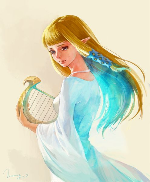 Art inspired by The Legend of Zelda: Skyward Sword Created by ももよし