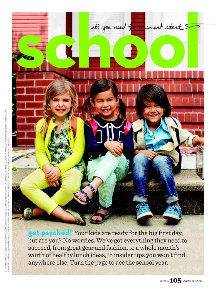 Parents September 2012 Back to School special 21-page section