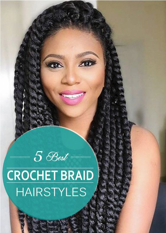 Crochet braids hairstyles were very popular back in the early 1990's and now it's back. Most African American women are sporting this style as it ...