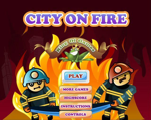 City on Fire - Really amazing action #flashgame . Play for free and feel like you are rescuing people from fire   #flashgamenation #flashgamesfree