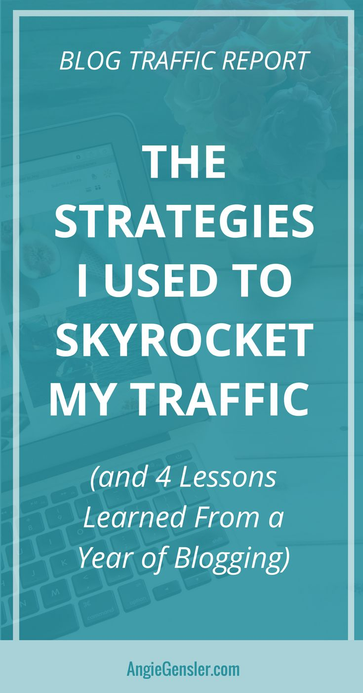 Website traffic report - I'm revealing my top traffic-driving strategies from last month - plus an inside look at four lessons learned from a year of #blogging.