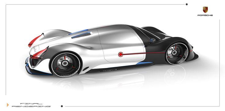 Porsche Fuel-Cell Vehicle Exterior Design 23