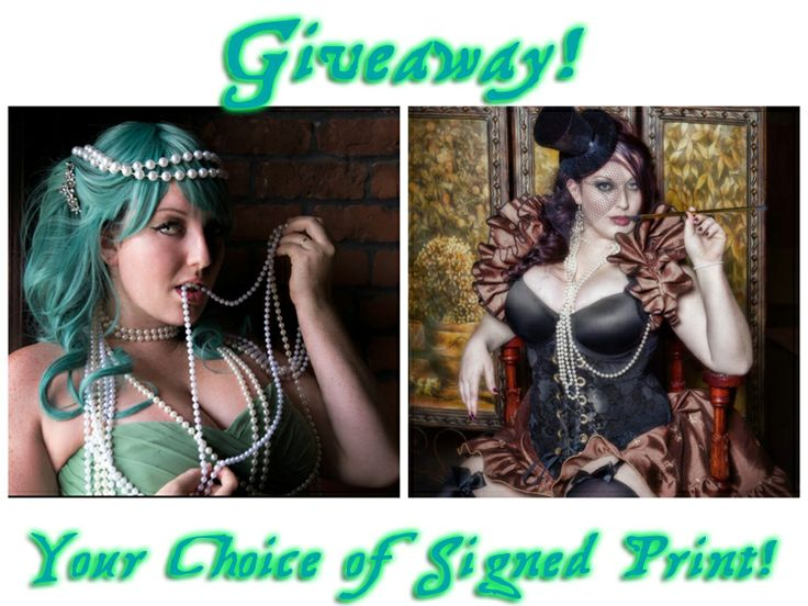 #Giveaway for 1 8x10 signed print of your choice from the Mischief Mistress!  Ends January 12, 2014 at 11:59pm #Coupon #Raffle