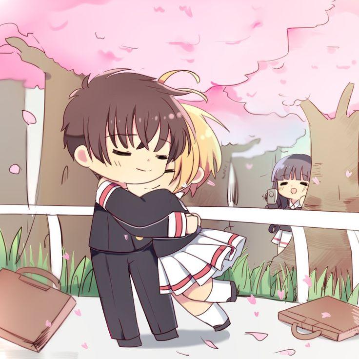 L Syaoran, K Sakura and D Tomoyo - Cardcaptor Sakura ( art by 半葉)