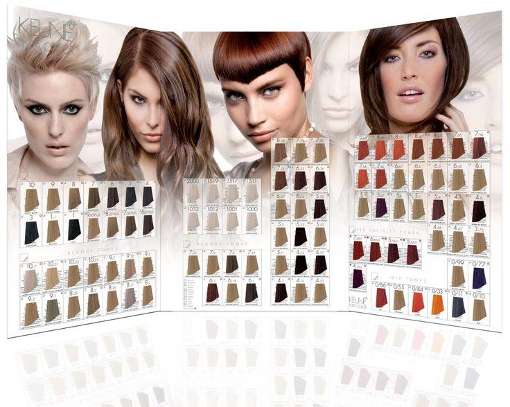 Палитры красок Keune Tinta Color Hairstyles