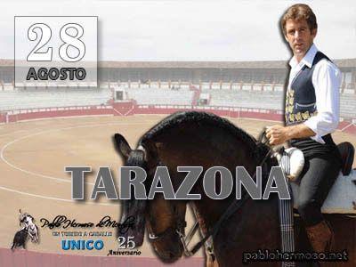 Tras una muy larga ausencia de diez temporadas, Pablo Hermoso de Mendoza vuelve a hacer el paseíllo este jueves 28 de agosto en el coso aragonés de Tarazona. http://bit.ly/1qij9tG