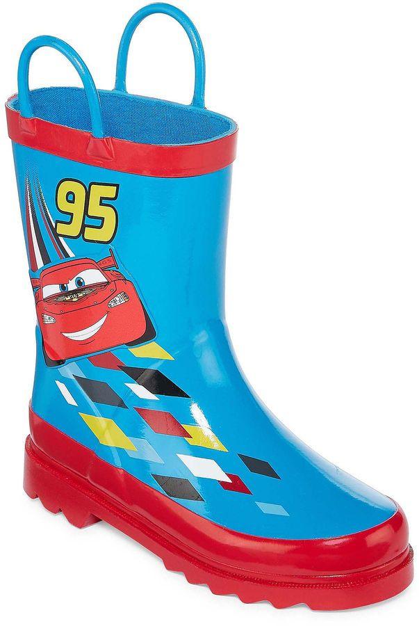 DISNEY Disney Boys Rain Boots - Toddler