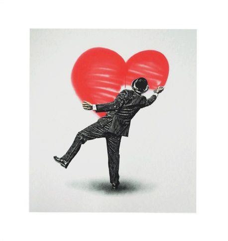 'Love Vandal' by Nick Walker    #Art #Illustration #Valentine