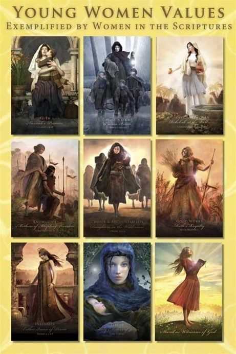 Real Hero Poster - Young Women Value Theme Cards
