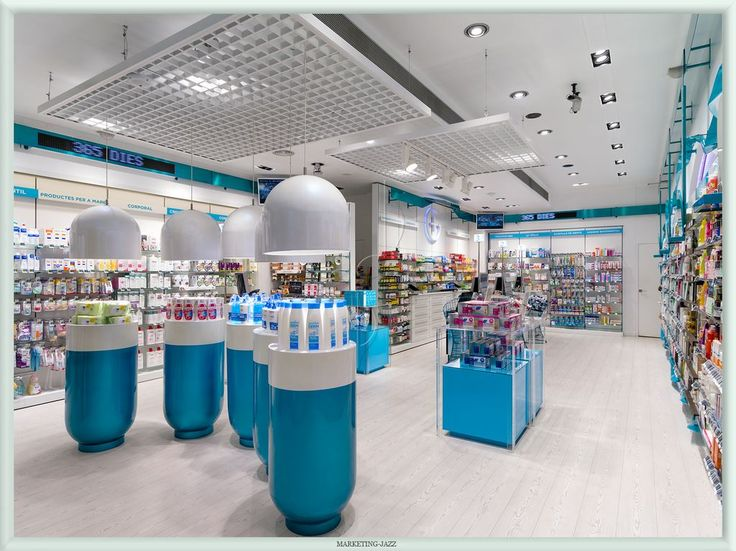 Design Showcase Garros Pharmacy Lleida Spain Retail
