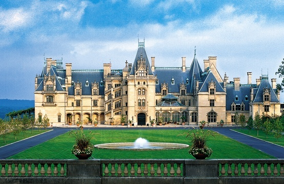 Biltmore Estate -- Ashville North Carolina. This was the most breathtaking home I have ever seen. I would love to go back considering they have more rooms open now. It was to die for!