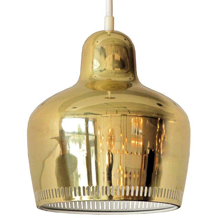 1stdibs | Alvar Aalto A330S Golden Bell