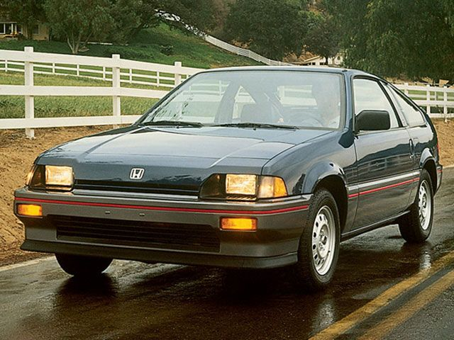 1985 Blue 5-Speed Honda CRX.  I still dream about that car.  It was SO fun to drive.