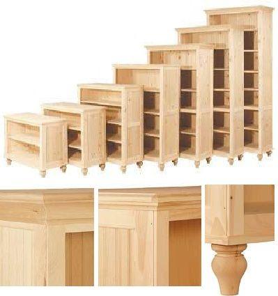 12 Deep Cottage Maple: Unfinished Furniture