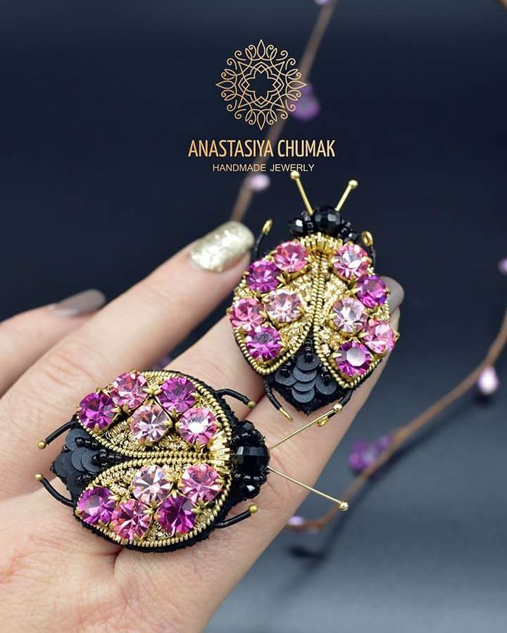 "100 Likes, 14 Comments - Авторские украшения (@anastasiya___chumak___) on Instagram: ""#anastasiyachumak #accessories #jewelry #womenaccessories #броширучнойработы #брошь #вышивкабисером…"""