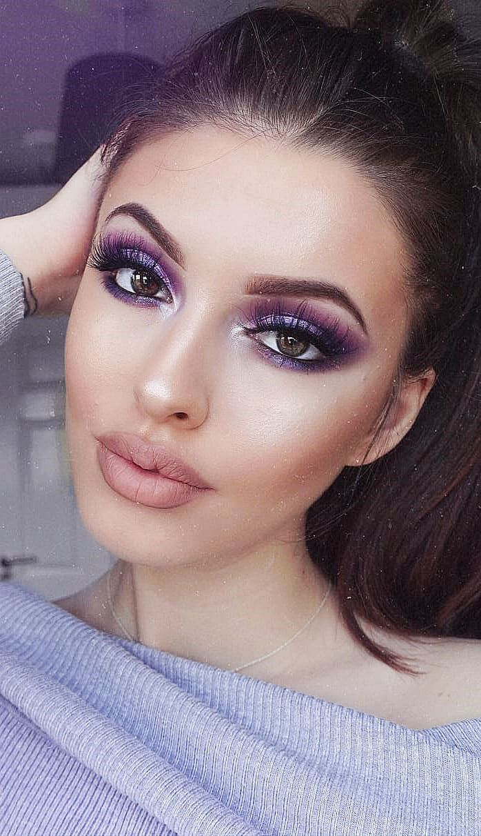 51 Attractive And Colorful Makeup Tips From The Beautiful Makeup Artist Page 7 Of 51 Lady Ideas Colorful Makeup Makeup Tips Beautiful Makeup