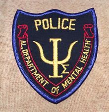 Alabama Department of Mental Health Police Patch