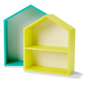 Fab Finds for Kids Bedrooms | Kmart Australia A book shelf for my bookworm on the bunk bed.