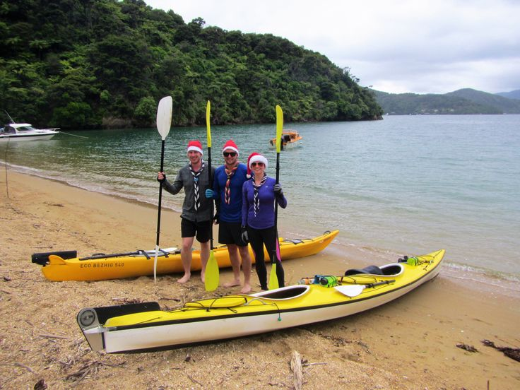 Kayaking the Queen Charlotte Sound, New Zealand  Taking on the adventure of life...