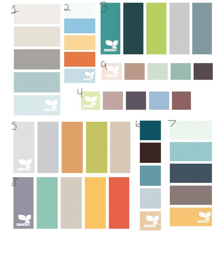 Beach House Interior Color Palette: 201 Best Images About Paint Colors On Pinterest