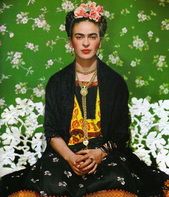 15редких фотографий неповторимой Фриды Кало