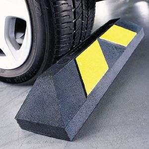 Heavy-Duty Home Parking Curb - garage