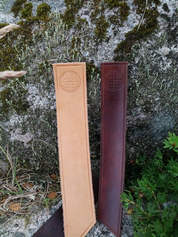 Bookmarks with celtic stamp